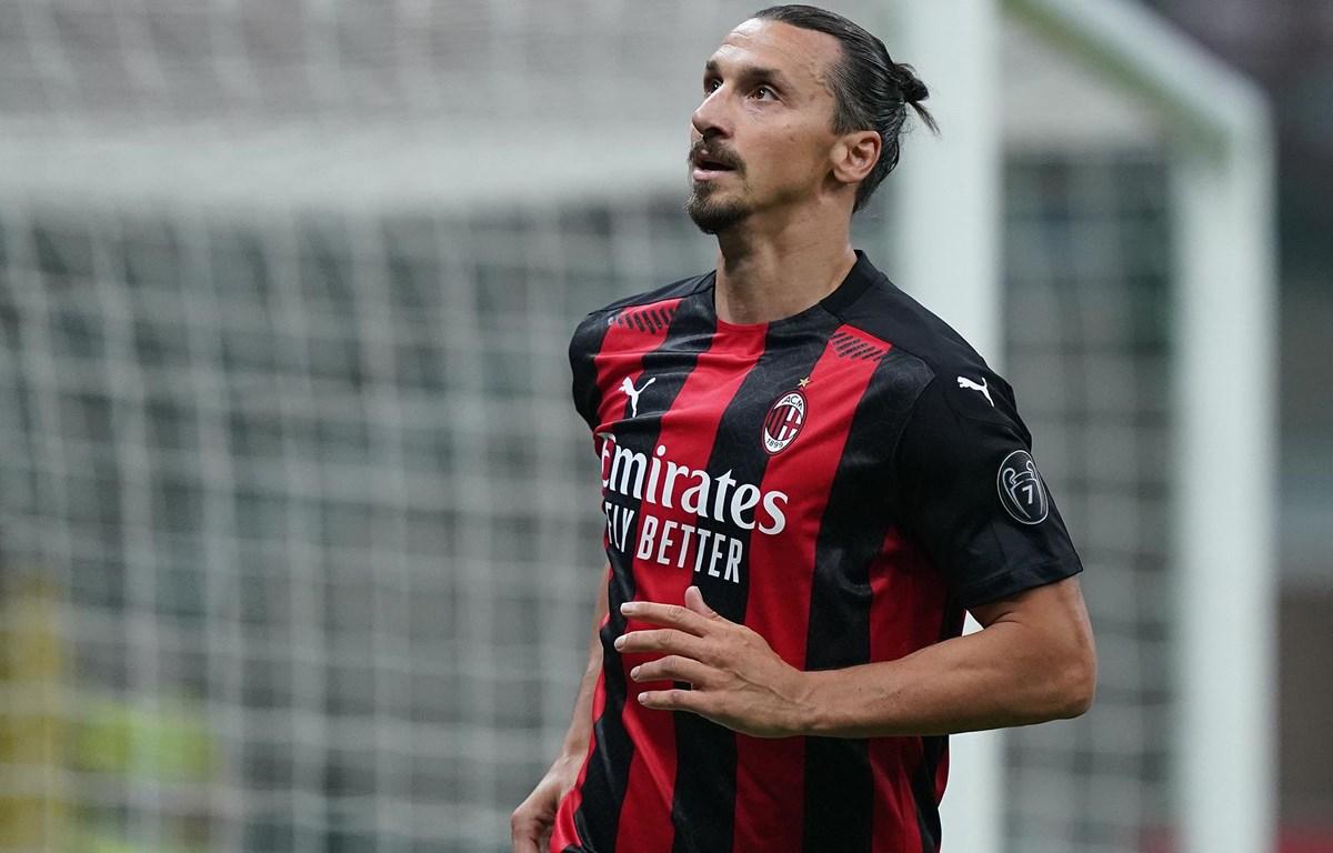 Ibrahimovic mắc COVID-19. (Nguồn: acmilan.com)