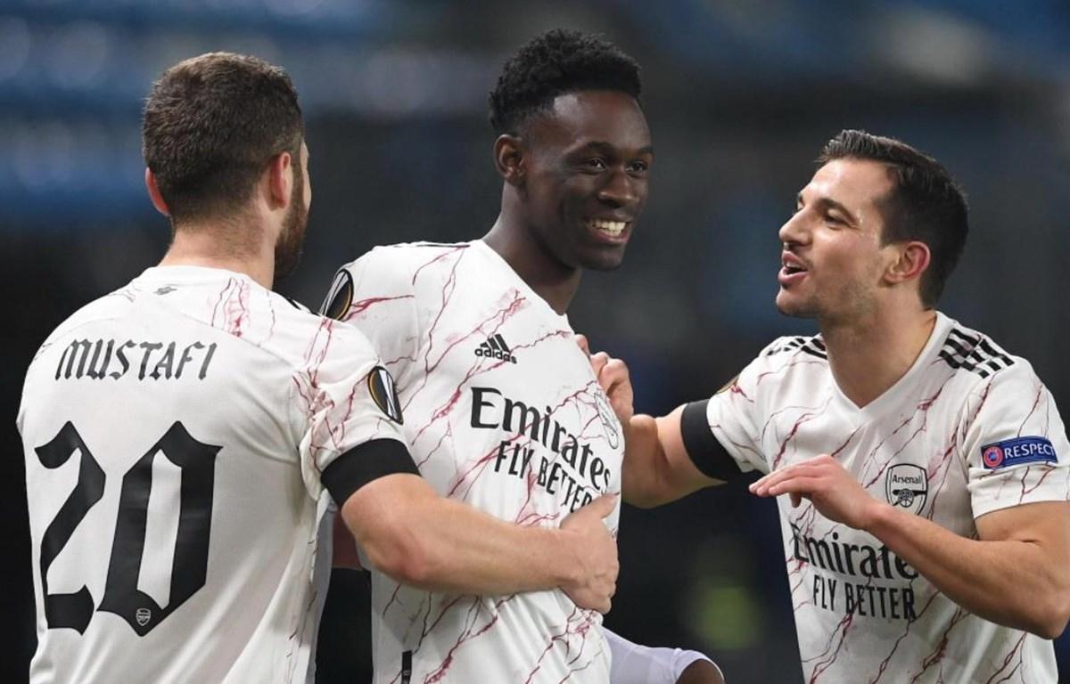 Arsenal giành quyền vào vòng 1/16 Europa League. (Nguồn: Getty Images)
