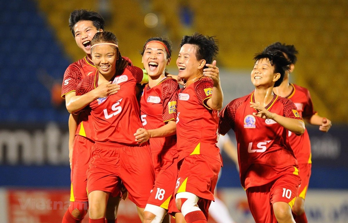 Câu lạc bộ TP.HCM I đang vững vàng ngôi đầu bảng xếp hạng Giải bóng đá nữ Vô địch Quốc gia - Cúp Thái Sơn Bắc 2020. (Ảnh: VFF)