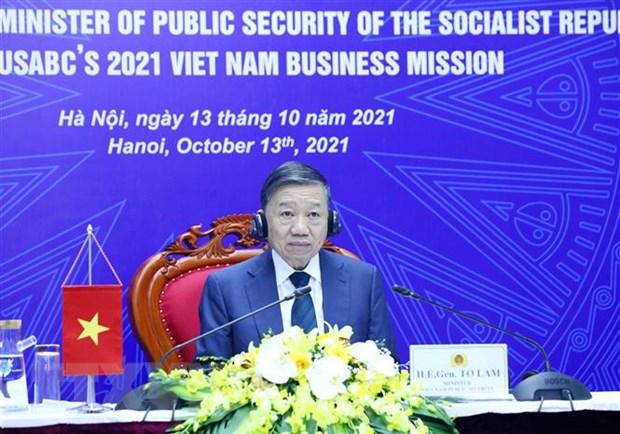 Thuc day quan he hop tac kinh doanh, thuong mai Viet Nam-Hoa Ky hinh anh 1