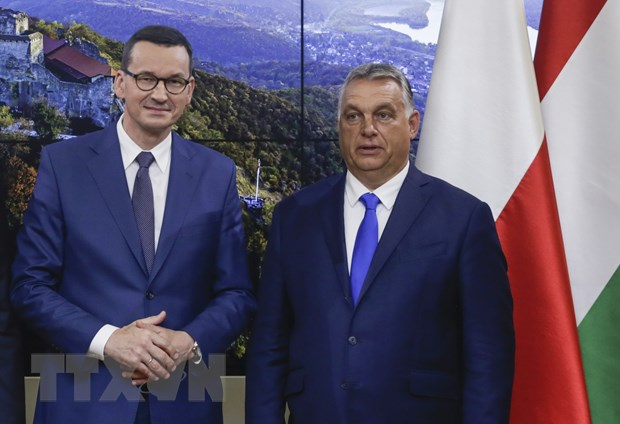 Hungary va Ba Lan van duy tri lap truong ve ngan sach cua EU hinh anh 1