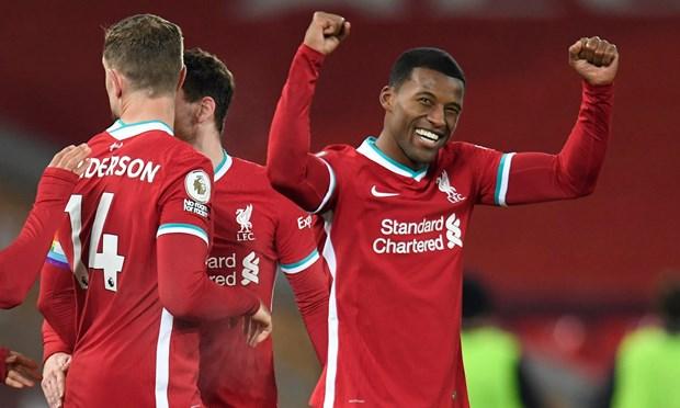 Premier League: Tottenham tro lai ngoi dau, Liverpool thang tung bung hinh anh 1