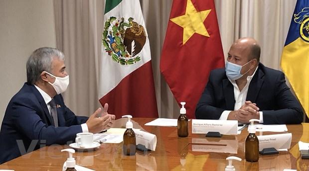 Viet Nam thuc day quan he thuong mai voi bang Jalisco cua Mexico hinh anh 1