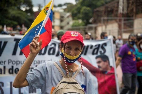 Cu tri Venezuela bat dau di bo phieu bau cu Quoc hoi hinh anh 1