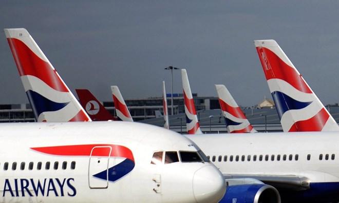 Máy bay của British Airways. (Nguồn: theguardian.com)