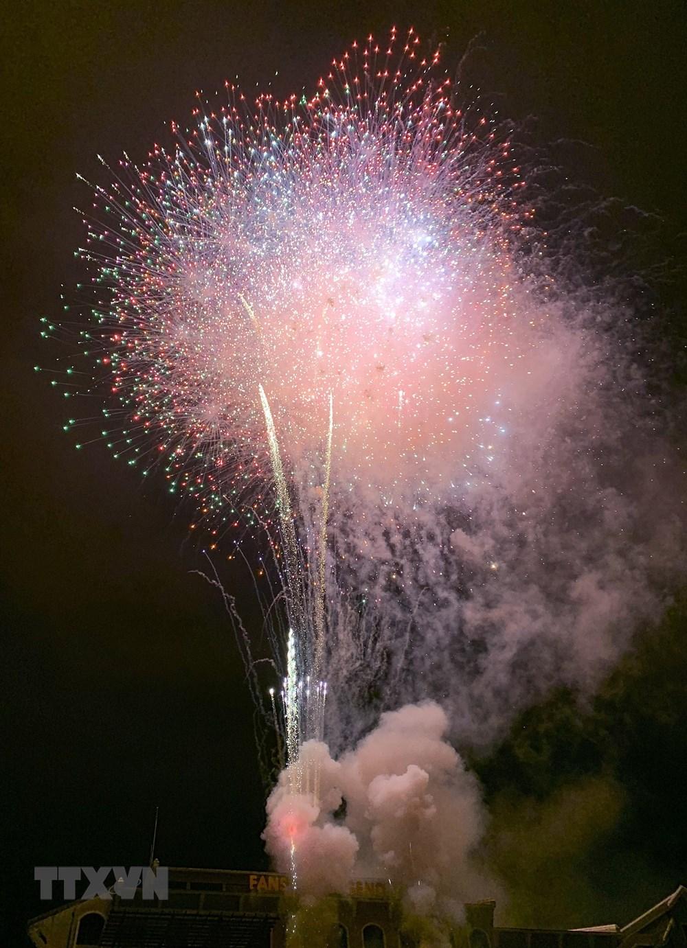 Lào Cai: Bắn pháo hoa chào mừng Quốc khánh tại khu du lịch Sa Pa - 3