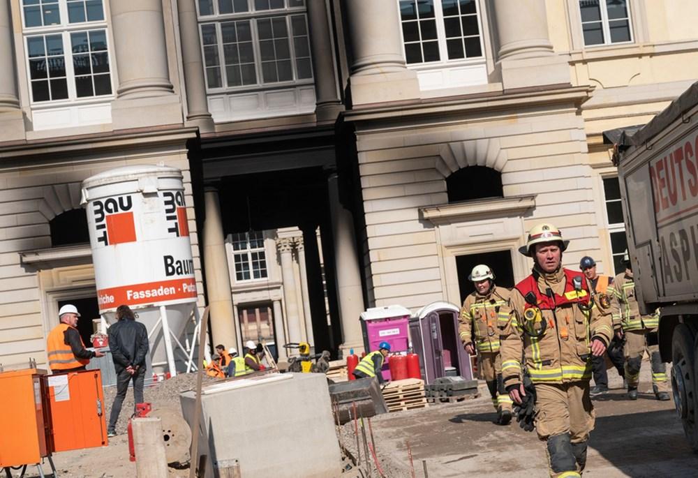 Đức: Cháy lớn tại Cung điện Hoàng gia ở trung tâm thủ đô Berlin