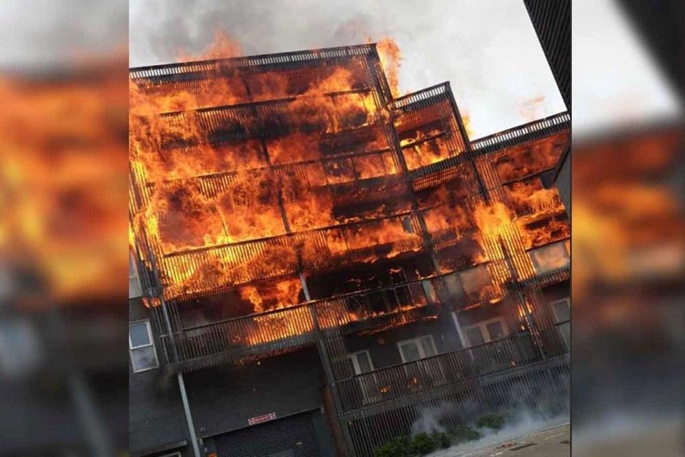 Anh: Cháy dữ dội tại một chung cư ở phía Đông thủ đô London