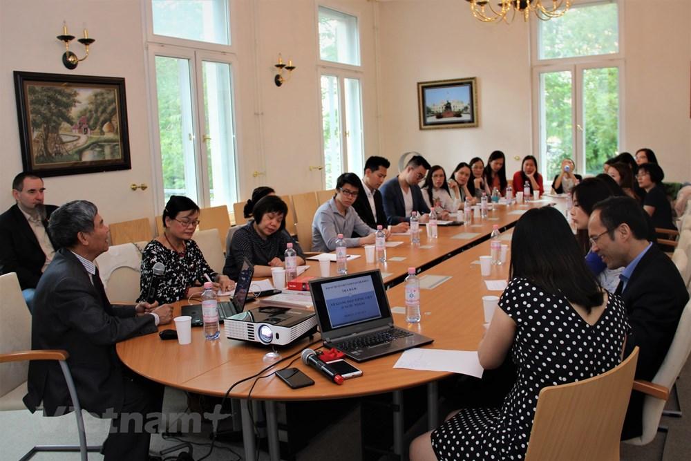 Tổ chức tọa đàm về các phương pháp giảng dạy tiếng Việt tại Đức - 1