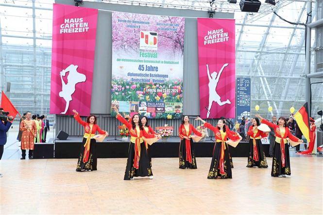 Festival kỷ niệm 45 năm thiết lập quan hệ ngoại giao Việt Nam-Đức - 1