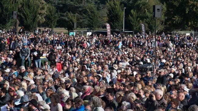 New Zealand tổ chức lễ tưởng niệm quốc gia vụ xả súng ở Christchurch - 1