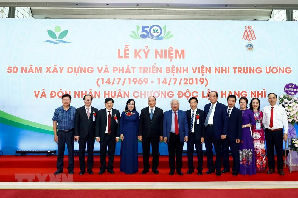 Thủ tướng dự Lễ kỷ niệm 50 năm thành lập Bệnh viện nhi Trung ương - 5