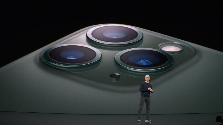 Apple chính thức ra mắt bộ ba iPhone 11 mới, nâng cấp camera - 1