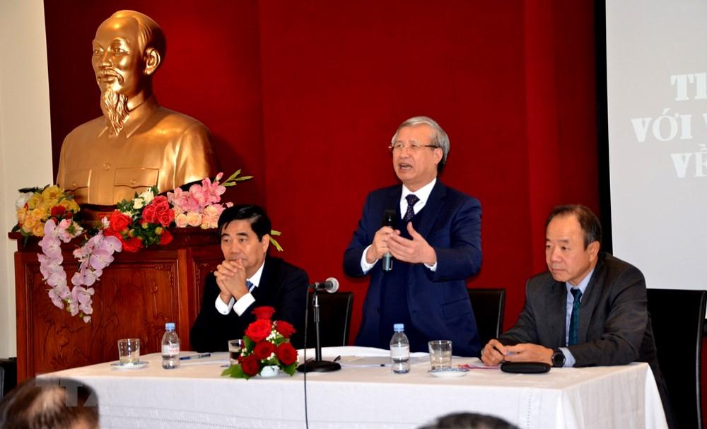 Thường trực Ban Bí thư Trần Quốc Vượng thăm, làm việc ở Cộng hòa Pháp - 2