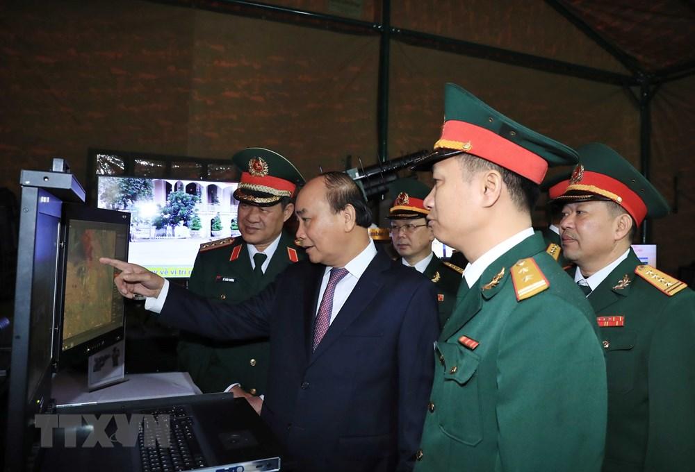 Thủ tướng, Chủ tịch Quốc hội dự kỷ niệm 75 năm Ngày thành lập quân đội - 4
