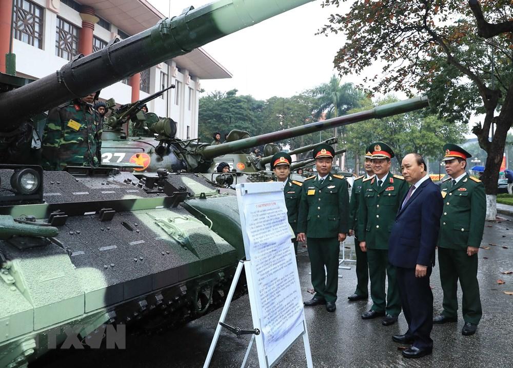 Thủ tướng, Chủ tịch Quốc hội dự kỷ niệm 75 năm Ngày thành lập quân đội - 1
