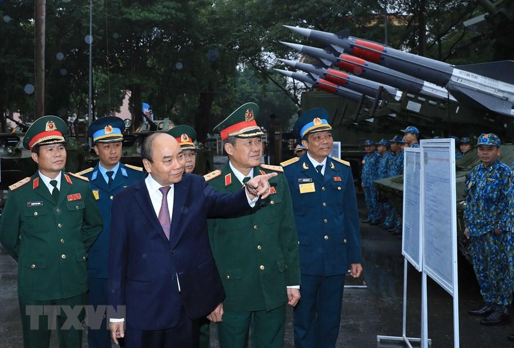 Thủ tướng, Chủ tịch Quốc hội dự kỷ niệm 75 năm Ngày thành lập quân đội - 10
