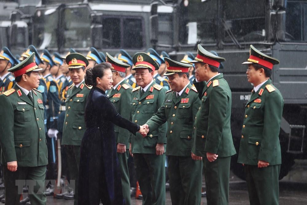 Thủ tướng, Chủ tịch Quốc hội dự kỷ niệm 75 năm Ngày thành lập quân đội - 6
