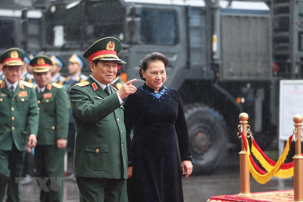 Thủ tướng, Chủ tịch Quốc hội dự kỷ niệm 75 năm Ngày thành lập quân đội - 7