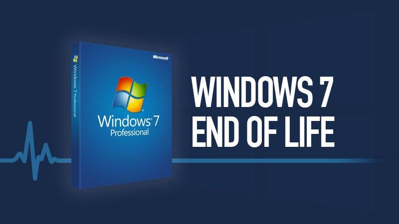 Microsoft sẽ chính thức 'khai tử' Windows 7 từ ngày 14/1/2020