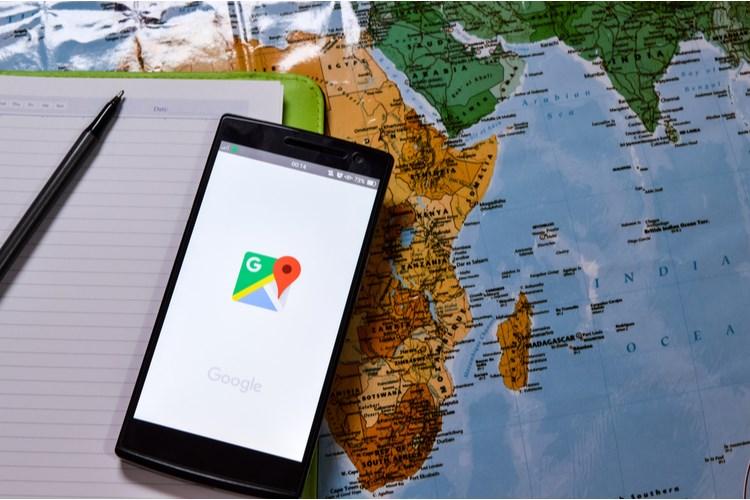 Google Maps sẽ hiển thị đường biên giới tùy thuộc vào vị trí người xem