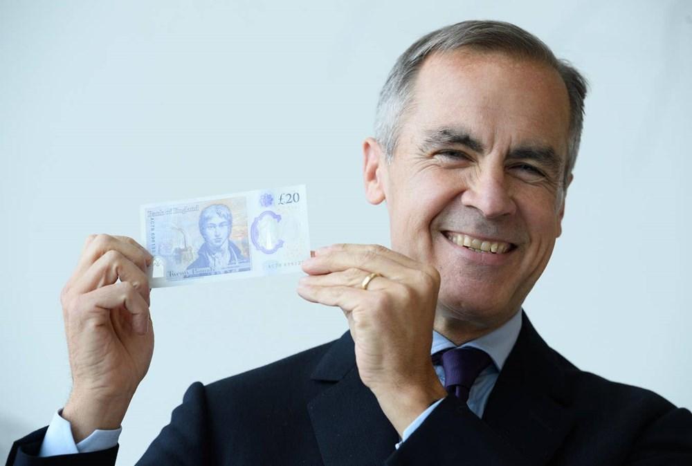 Anh chính thức lưu hành tờ tiền polymer mệnh giá 20 bảng