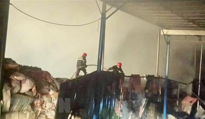 Bà Rịa-Vũng Tàu: Cháy bãi rác Tóc Tiên, có khả năng kéo dài nhiều ngày