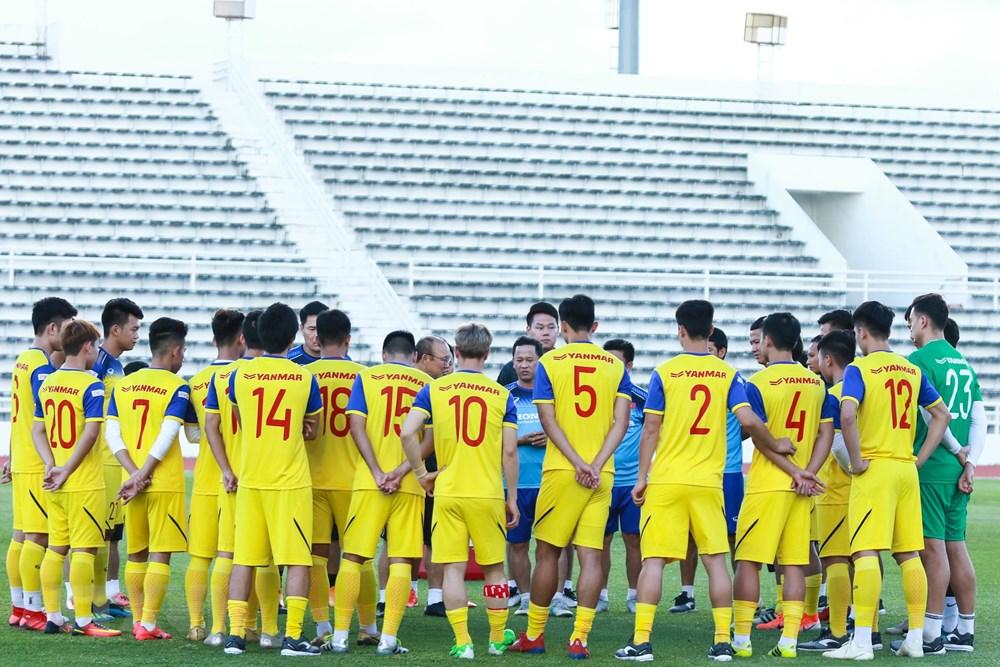 [ẢNH] Đội tuyển Việt Nam 'thư giãn' sau chiến thắng chủ nhà Thái Lan