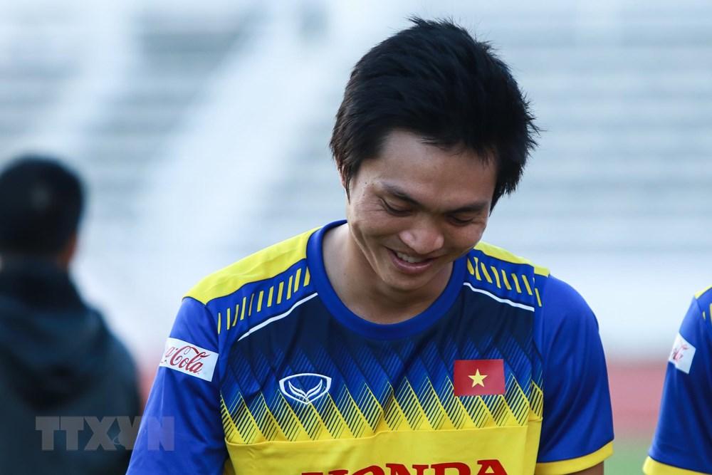 [ẢNH] Đội tuyển Việt Nam 'thư giãn' sau chiến thắng chủ nhà Thái Lan - 1