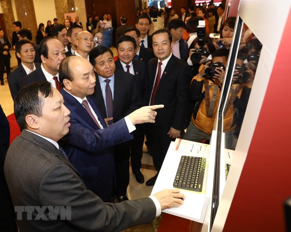Thủ tướng Nguyễn Xuân Phúc dự khai trương Cổng Dịch vụ công quốc gia - 1
