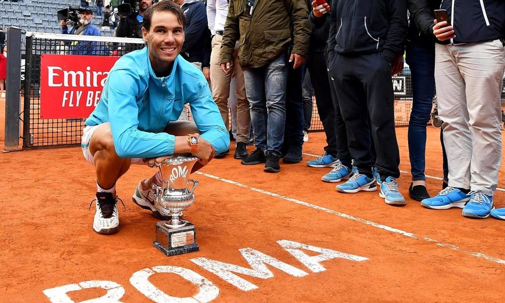 Hạ Novak Djokovic, Nadal lần thứ 9 lên ngôi tại Rome Masters - 2