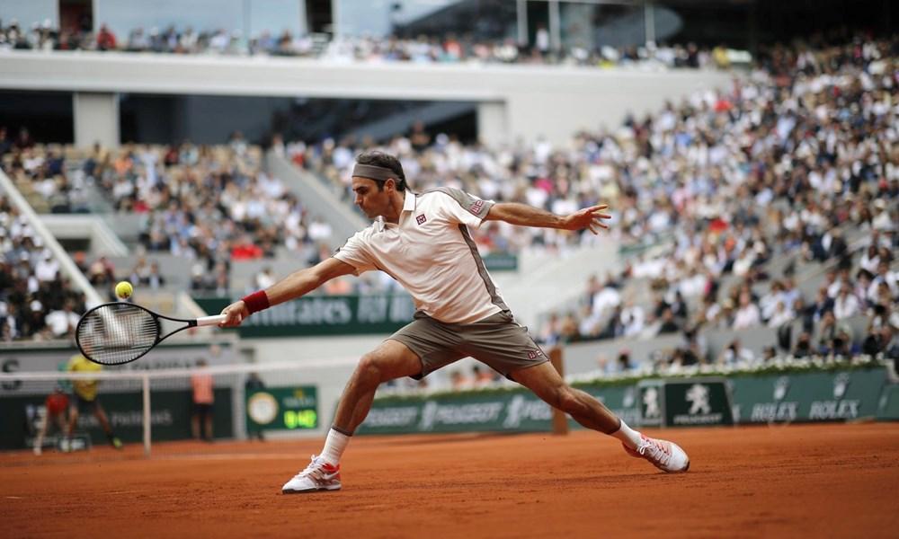 Rafael Nadal và Roger Federer đua nhau 'phô trương sức mạnh' - 1