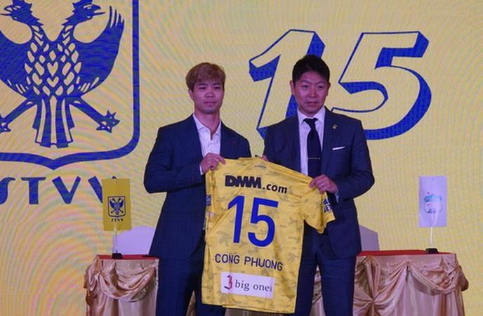 Nguyễn Công Phượng chính thức gia nhập CLB Sint-Truidense VV