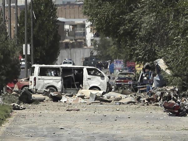 Đánh bom gây thương vong lớn tại miền Trung Afghanistan
