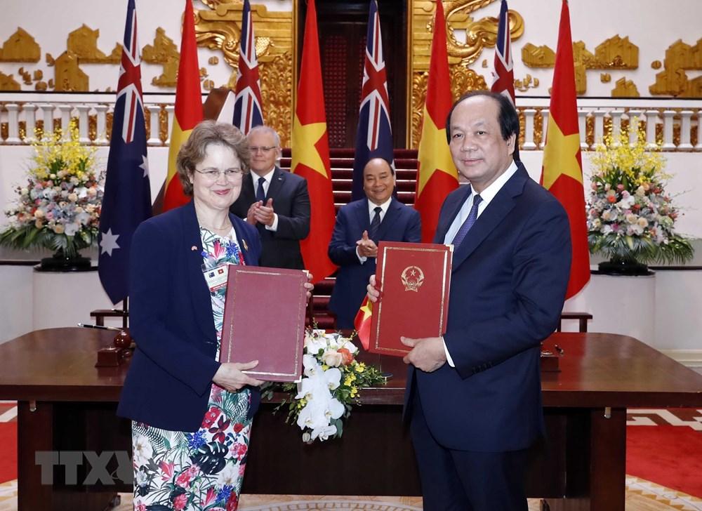Thủ tướng Australia kết thúc chuyến thăm chính thức Việt Nam - 1