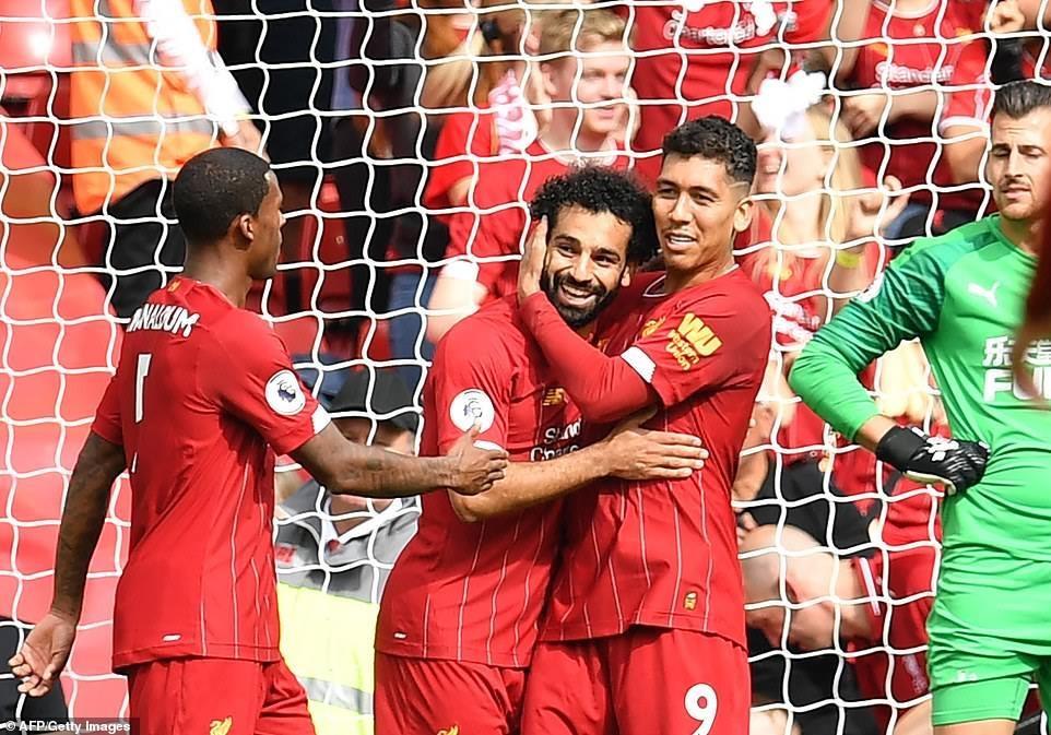 Thắng ngược Newcastle, Liverpool xây chắc ngôi đầu Premier League - 3