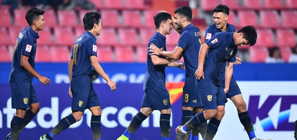 U23 Thái Lan thắng vùi dập U23 Bahrain 5-0 trong ngày ra quân - 1