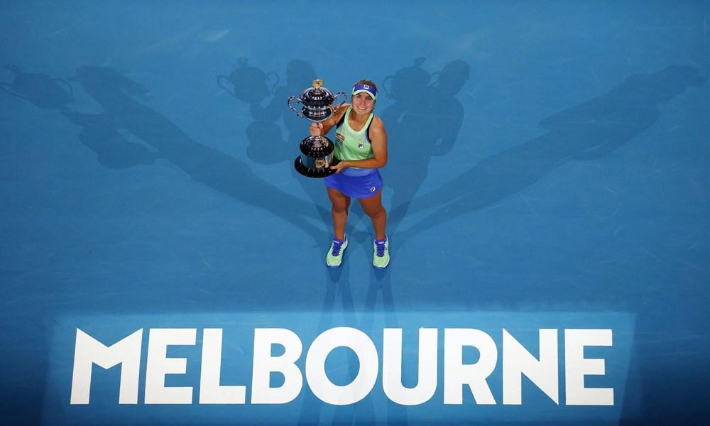 Ngược dòng hạ Muguruza, Kenin giành chức vô địch Australian Open - 1