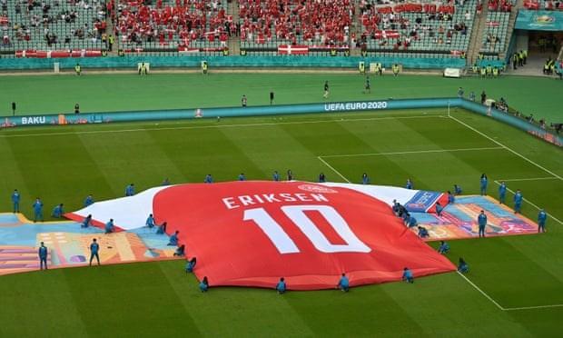 UEFA moi Christian Eriksen va nhom y te toi du tran chung ket hinh anh 1
