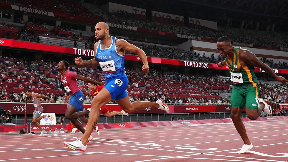 Van dong vien Italy gianh tam HCV danh gia tren duong chay 100m nam hinh anh 1