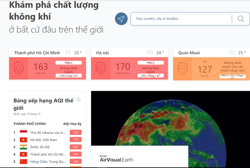 Sau gần 1 tuần duy trì 'vàng xanh', chỉ số ô nhiễm ở Hà Nội lại 'xấu' - 1