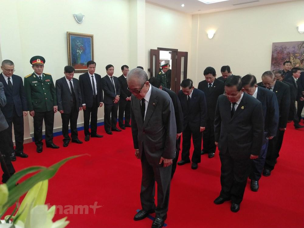 Trang trọng Lễ viếng nguyên Chủ tịch nước Lê Đức Anh tại Campuchia - 3