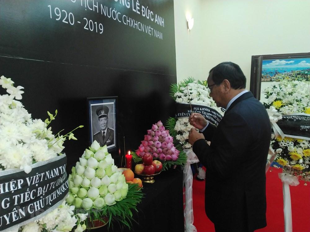 Trang trọng Lễ viếng nguyên Chủ tịch nước Lê Đức Anh tại Campuchia - 1