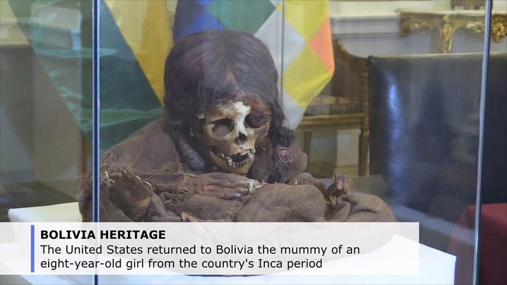 Bolivia tiếp nhận lại xác ướp của một bé gái 8 tuổi thuộc thời Inca