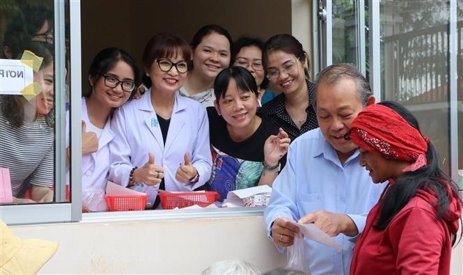 Phó Thủ tướng thăm đồng bào dân tộc, gia đình chính sách ở Bình Phước - 1