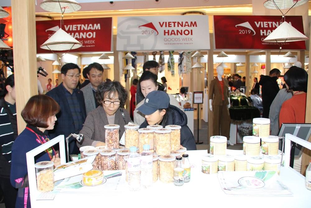Co hoi de san pham Viet Nam tiep can thi truong tiem nang Han Quoc hinh anh 1