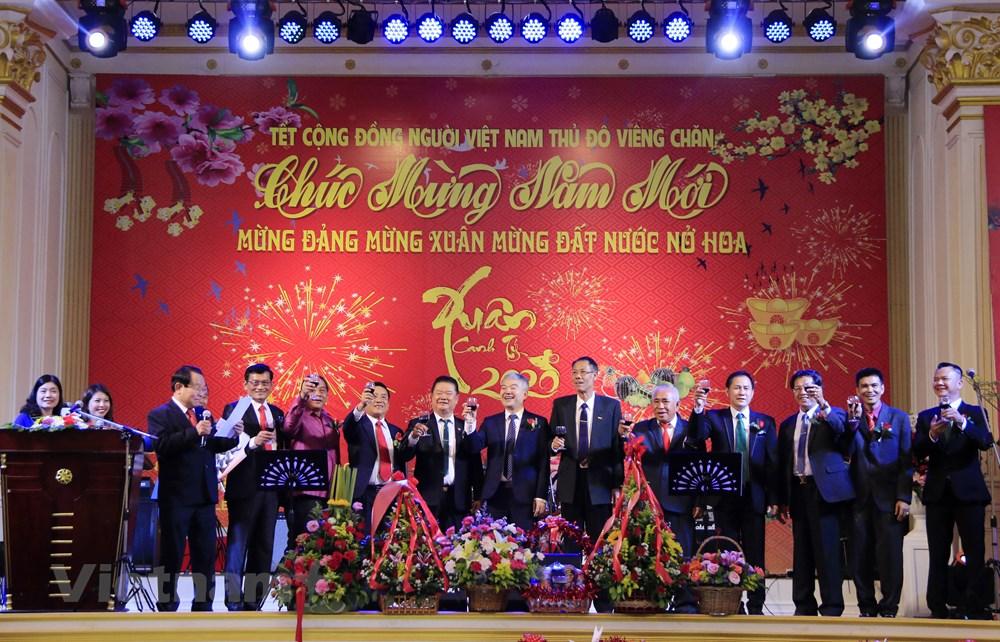 Sôi động ngày Tết cộng đồng người Việt Nam tại Lào và Ấn Độ - 1