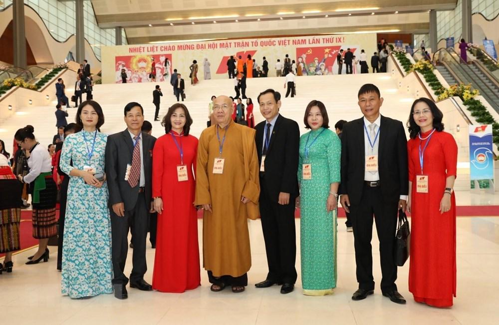 [ẢNH] Đại biểu tham dự Đại hội đại biểu toàn quốc MTTQ Việt Nam lần thứ IX