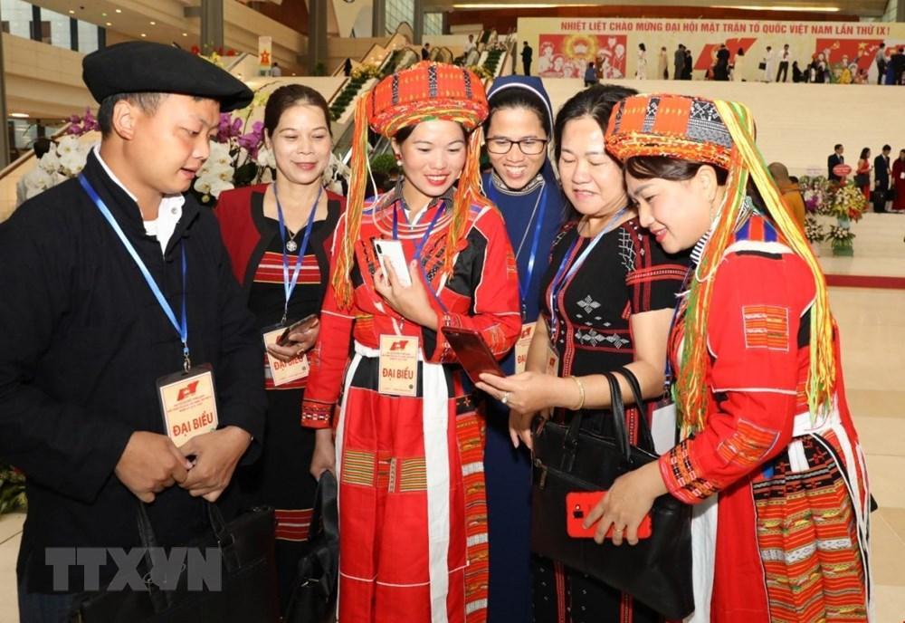 [ẢNH] Đại biểu tham dự Đại hội đại biểu toàn quốc MTTQ Việt Nam lần thứ IX - 9