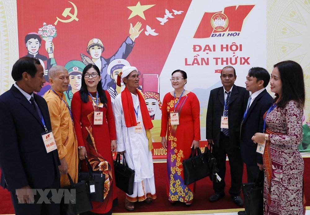 [ẢNH] Đại biểu tham dự Đại hội đại biểu toàn quốc MTTQ Việt Nam lần thứ IX - 2